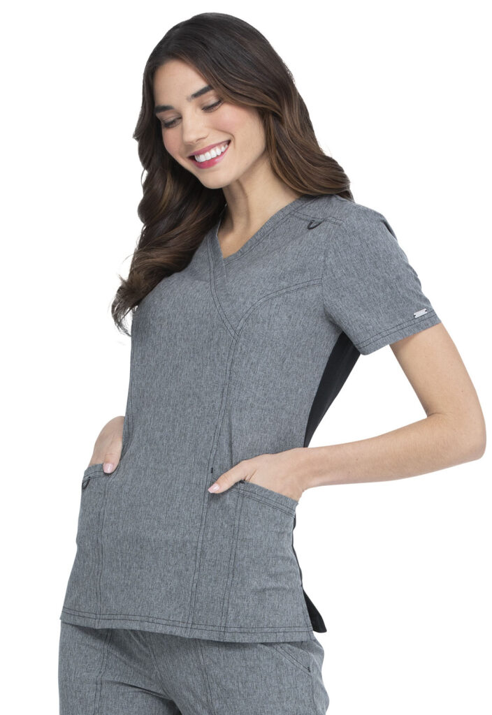 Health Company - TOP UNIFORME MÉDICO MUJER UNICOLOR ELLE SIMPLY POLISHED EL620 HGY