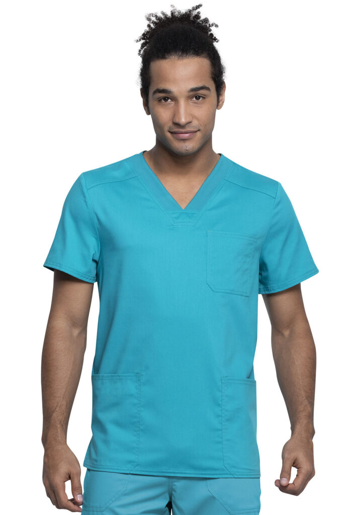 Health Company - TOP UNIFORME MÉDICO HOMBRE UNICOLOR CHEROKEE WW REVOLUTION TECH WW760AB TLB