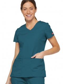 TOP UNIFORME MÉDICO MUJER UNICOLOR DICKIES EDS 85906 CAWZ