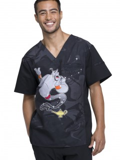 TOP UNIFORME MÉDICO HOMBRE ESTAMPADO DISNEY TF700 ADTW