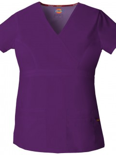 TOP UNIFORME MÉDICO MUJER UNICOLOR DICKIES EDS 85820 EGWZ