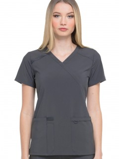 Blusa Del Uniforme Médico Mujer Unicolor Dickies Eds Dk625 Pwps