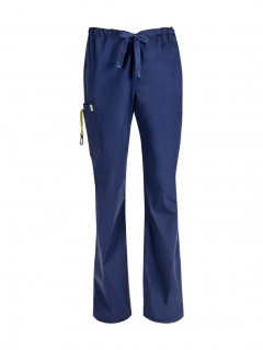 Pantalón Del Uniforme Médico Hombre Unicolor Code Happy Bliss Antimicrobial 16001A  Nvch