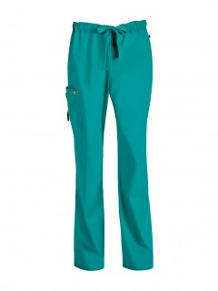 Pantalón Del Uniforme Médico Hombre Unicolor Code Happy Bliss Antimicrobial 16001A  Tlch