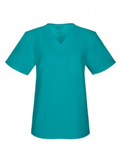 TOP UNIFORME MÉDICO UNISEX UNICOLOR CHEROKEE WW FLEX ANTIMICROBIAL 34777A  TLBW