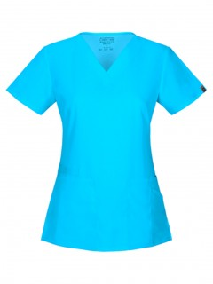TOP UNIFORME MÉDICO MUJER UNICOLOR CHEROKEE WW FLEX ANTIMICROBIAL 44700A  TRQW