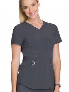 Blusa Del Uniforme Médico Mujer Unicolor Cherokee Infinity Antimicrobial Ck623A  Pwps