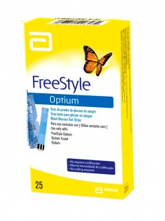 TIRAS FREESTYLE OPTIUM X 25
