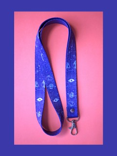PORTA DOCUMENTOS (LANYARD) SPACE DNA IDENTIFY YOURSELF 1