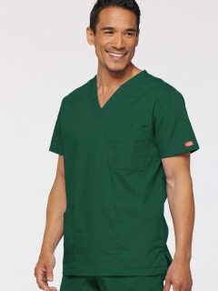 TOP UNIFORME MÉDICO HOMBRE UNICOLOR DICKIES EDS 81906  HUWZ