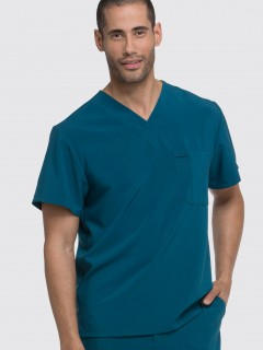 TOP UNIFORME MÉDICO HOMBRE UNICOLOR DICKIES DK635 CAPS